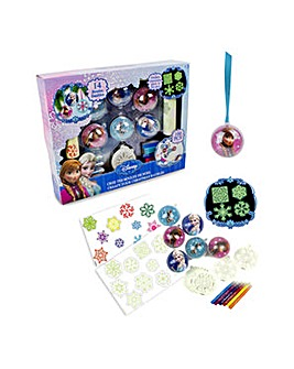 Frozen Christmas Baubles Creative Kit