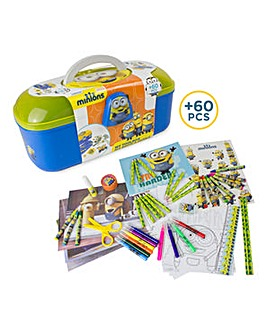 MINIONS Tool Box 60 Piece Creative Set