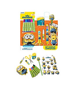 MINIONS 15pc Stationery Set