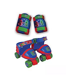 PJ MASKS Quad Roller Skates & Protection