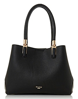 Dune Daurla Large Chain Handle Tote Bag