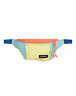 EastPak Page Bumbag Blocked Blue