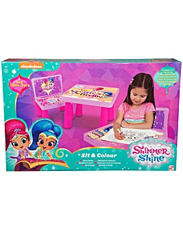Shimmer and Shine Sit and Colour