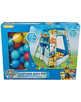 Paw Patrol Square Ball Pit with 20 Balls