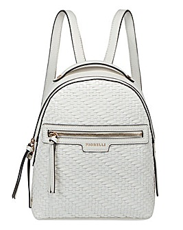 Fiorelli Anouk Backpack Cream Weave