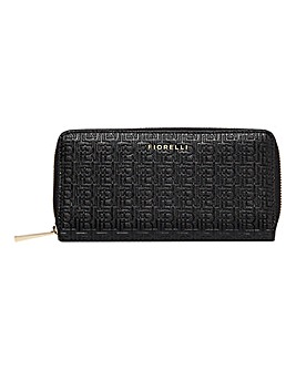 Fiorelli City Black Ziparound Purse