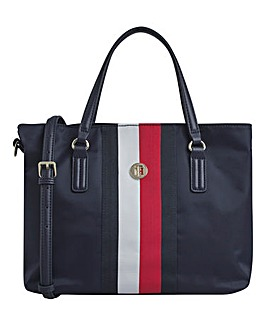 Tommy Hilfiger Poppy Satchel Bag Navy