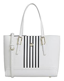 Tommy Hilfiger Honey Medium Stripe Bag