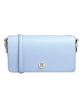 Tommy Hilfiger Honey Flap Crossover Bag Breezy Blue