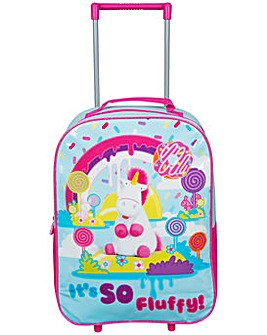Minions Fluffy Trolley Bag