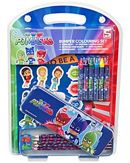 PJ Masks Colouring Bumper Stationery Set