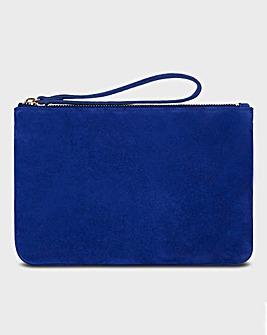 Hobbs Navy Chelsea Wristlet Bag