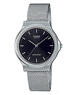 Casio Gents Round Mesh Watch