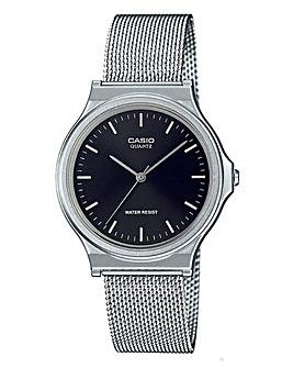 Casio Gents Round Mesh Watch