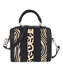 Joanna Hope Leather Animal Mono Bag