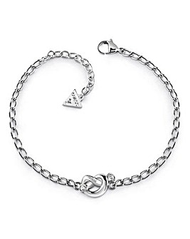 Guess Mini Chain and Knot Bracelet