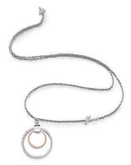 Guess Rose Gold Chain Necklace