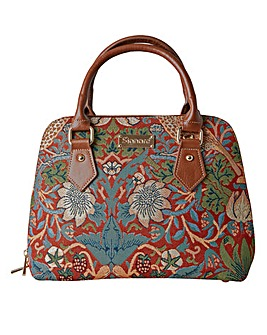 Joe Browns Strawberry Thief Tapestry Bag