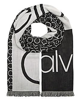 Calvin Klein CK Jaquard Scarf