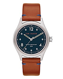Ted Baker Beleeni Leather Strap Watch
