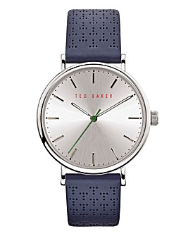 Ted Baker Mimosaa Silver & Blue Watch