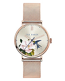 Ted Baker Phylipa Gold Flower Watch