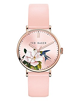 Ted Baker Phylipa Pink Flower Watch