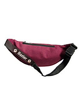 Personalised Dog Walking Bum Bag