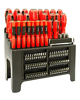 Rolson 100 Piece Screwdriver Set