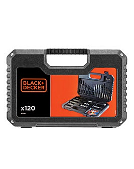 Black and Decker 120 Piece Accessory Kit