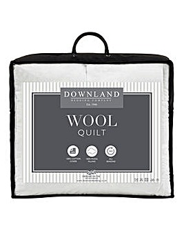 Luxury Wool-Filled Cotton Duvet