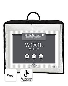 Luxury Wool-Filled All Seasons Cotton Duvet