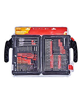 Amtech 253 Piece Assorted Drill Bit Set