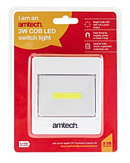 Amtech 2 x 3W COB Switch
