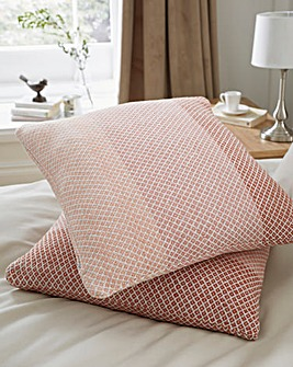 Tonal Stripe Cotton Cushion Covers Pack of 2