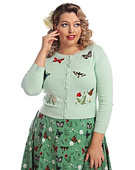 Collectif Abigail Butterfly Cardigan
