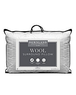 Luxury Wool-Filled Cotton Pillow
