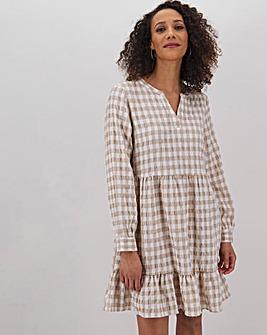 Vero Moda Short Check Smock Dress