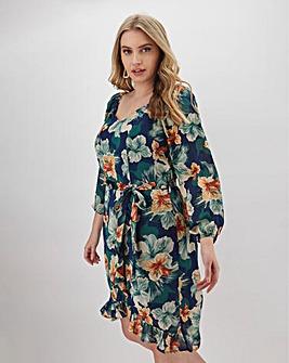Lovedrobe Milkmaid Frill Dress