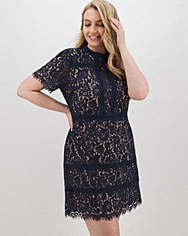 Oasis Tamara Lace Shift Dress