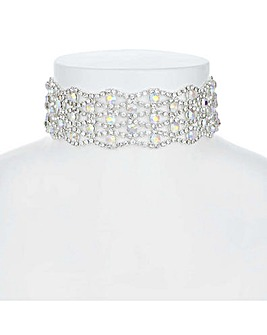 Mood Crystal Choker Necklace