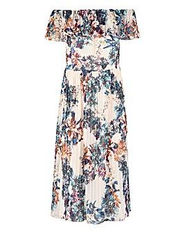 Little Mistress Bardot Midi Dress