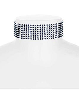 Mood Crystal Diamante Choker Necklace