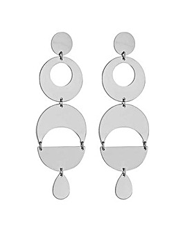 Mood Geometric Statement Earring