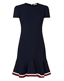 Tommy Hilfiger Hem Detail Skater Dress