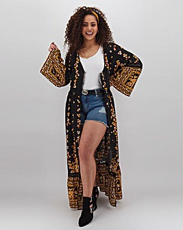 Band of Gypsies Printed Kimono