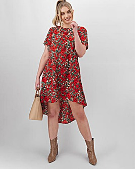 AX Paris Printed Smock Dress