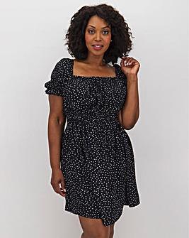 AX Paris Spot Milkmaid Dress