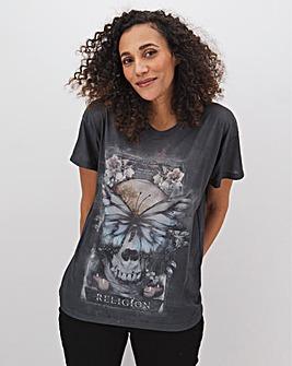 Religion Convert Butterfly T-Shirt