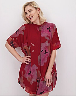 Religion Titan Floral Print Tunic Dress